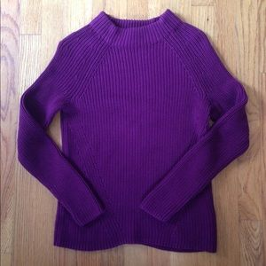 Land's End Mock Neck Sweater